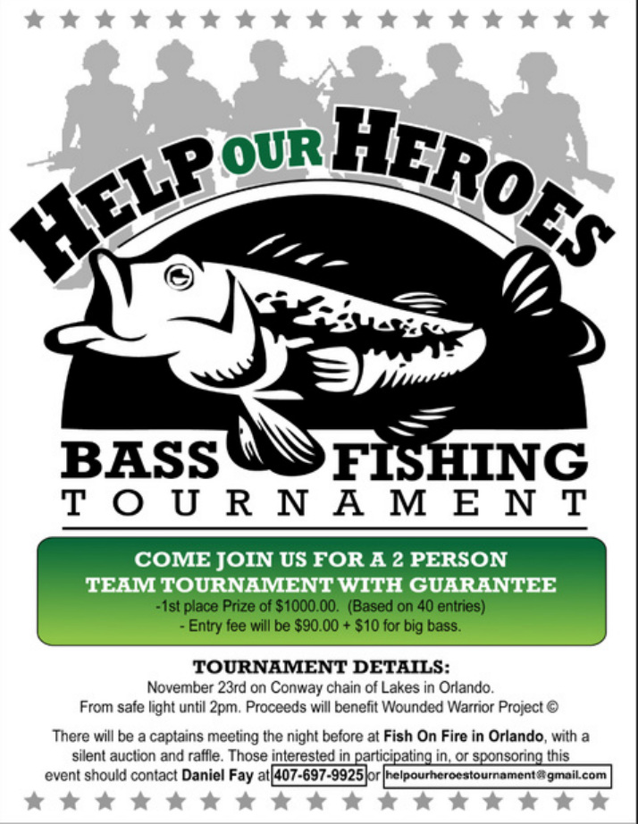 Free Fishing Tournament Flyer Template Kubreforic